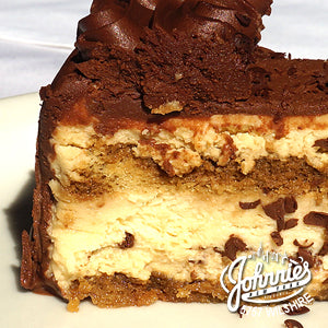 Tiramisu - Johnnie's New York Pizza 5757 Wilshire Blvd # 102 Los Angeles 90036 www.lajohnniesnypizzeria.com Miracle Mile Johnnys Pizza