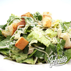 Caesar Salad (Catering) - Johnnie's New York Pizza 5757 Wilshire Blvd # 102 Los Angeles 90036 www.lajohnniesnypizzeria.com Miracle Mile Johnnys Pizza