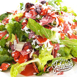 NY Chopped Salad - Johnnie's New York Pizza 5757 Wilshire Blvd # 102 Los Angeles 90036 www.lajohnniesnypizzeria.com Miracle Mile Johnnys Pizza