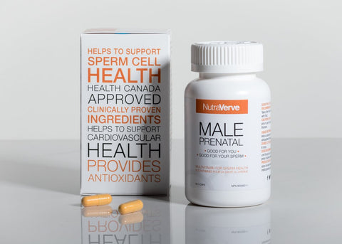 NutraVerve Nutritionals Male Fertility Supplement Vitamin