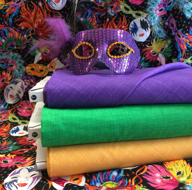 THAT'S SEW MARDI GRAS: Why Mardi Gras is a Great Time to Give Sewing a Go!