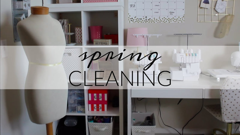 10 Easy Tips to Spring Clean Your Sewing Room