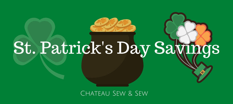St. Patrick's Day Savings
