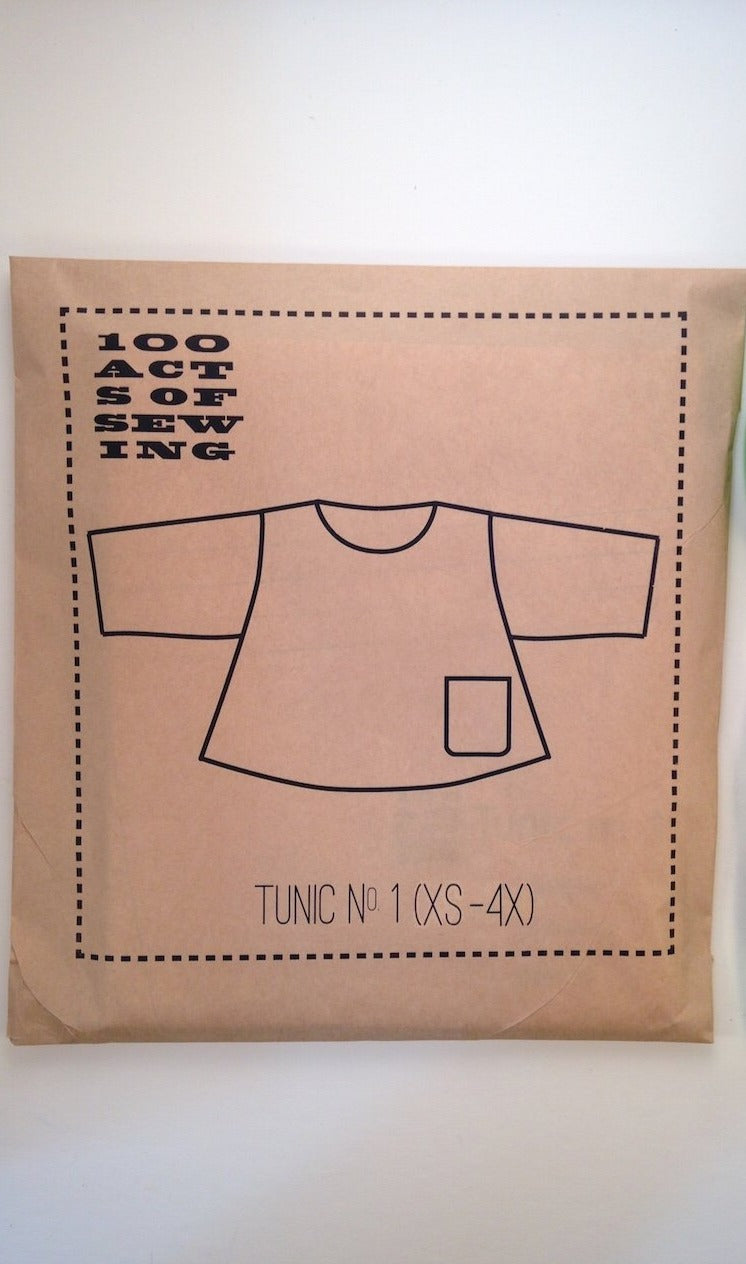 100 ACTS OF SEWING - TUNIC NO 1 (XS - XL).