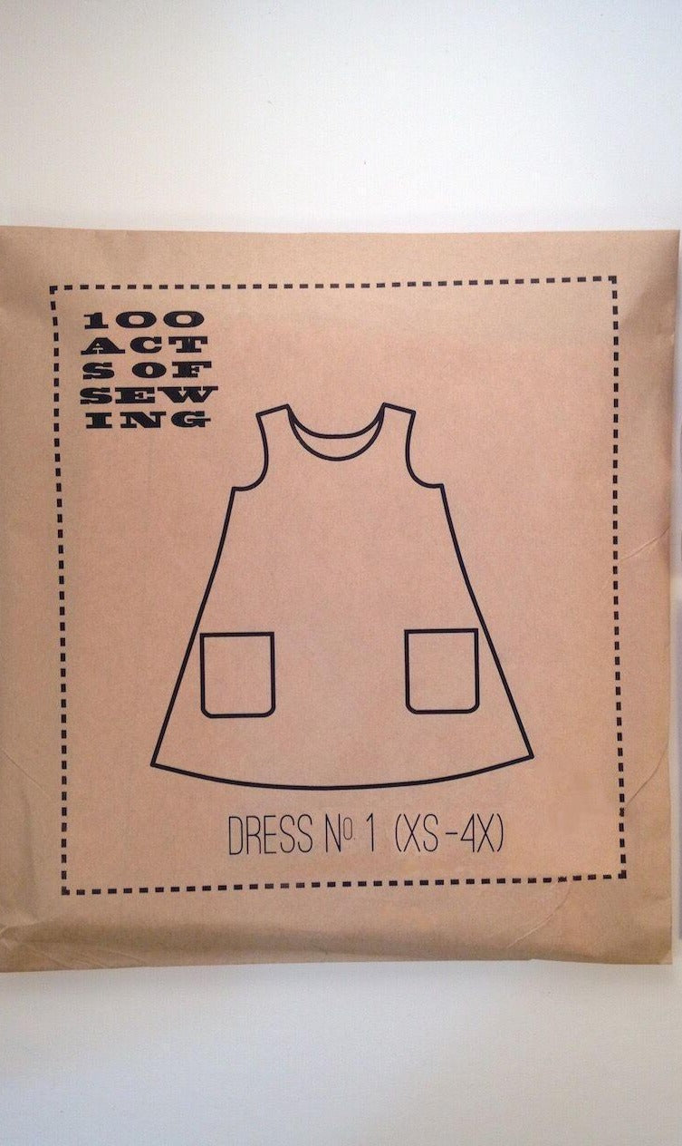 100 ACTS OF SEWING - DRESS NO.1