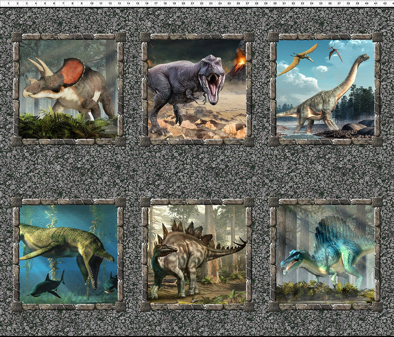 In the Beginning - Jurassic - Dino Small Panel