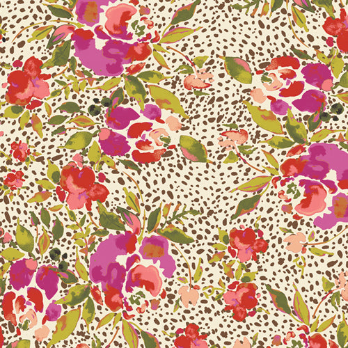 Art Gallery Fabrics -  Manhattan's Foliage In Rayon