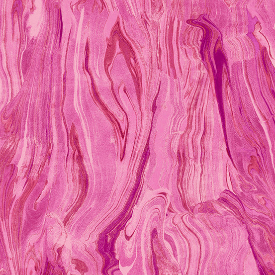 Andover Fabrics – Marble - Pink