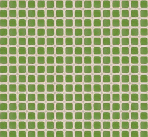 Blend Fabric  - Snow Fun - Snow Plaid - Green