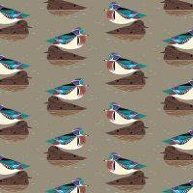 Birch Fabrics - Charlie Harper  Lakehouse Vol. 1:Wood Duck