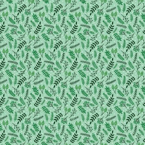 Rjr – Jade Mosinski - Branching Out - Spearmint Fabric