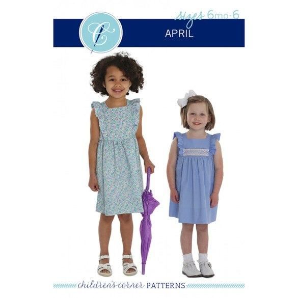 CHILDREN'S CORNER PATTERNS -  APRIL 7 - 14 YRS