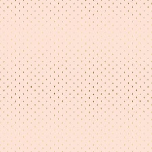 COTTON+STEEL BASICS - STITCH AND REPEAT - BLUSH METALLIC FABRIC