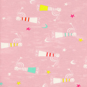 Cotton+Steel Fabrics – Angels Singing Pink