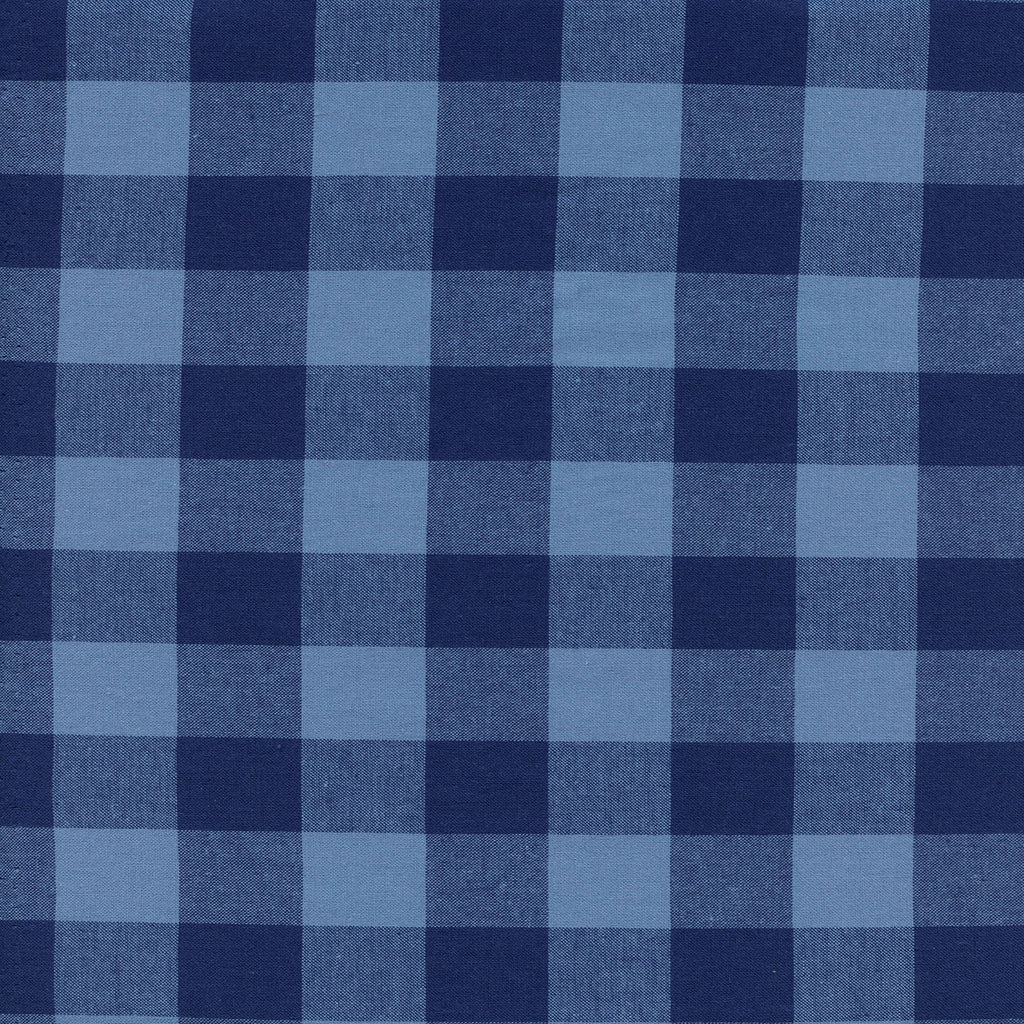 "Cotton+Steel Fabrics  - 1"" Gingham Navy"