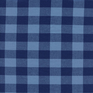 "COTTON+STEEL - 1"" GINGHAM NAVY"