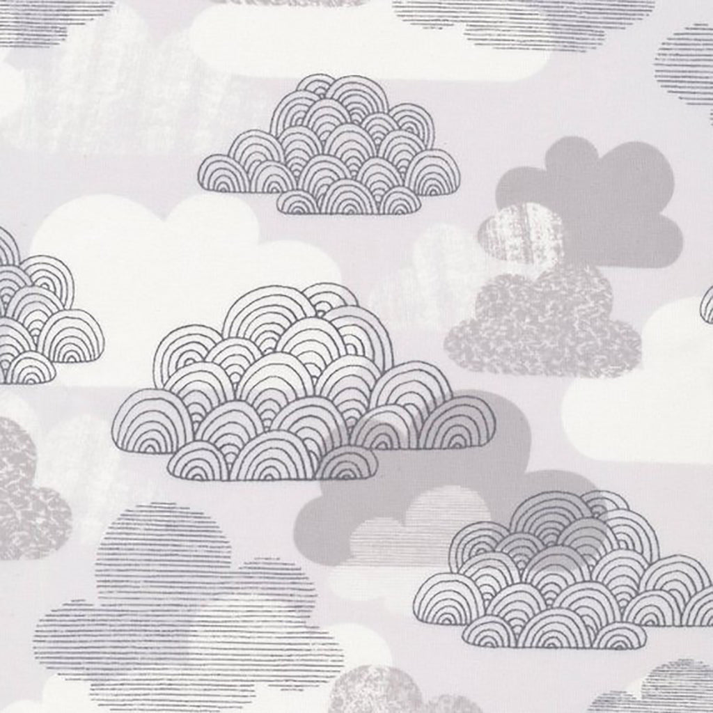 CLOUD9 FABRICS - PASSING CLOUDS - GRAY