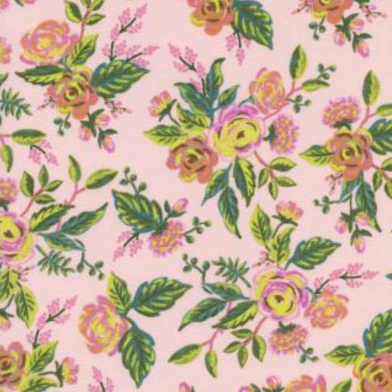 Cotton & Steel Fabrics - Menagerie - Jardin De Paris - Peony Fabric