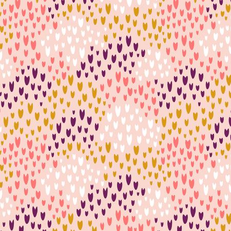 Cotton + Steel Fabrics - Pop! - Summer of Love - Sugar Poppy