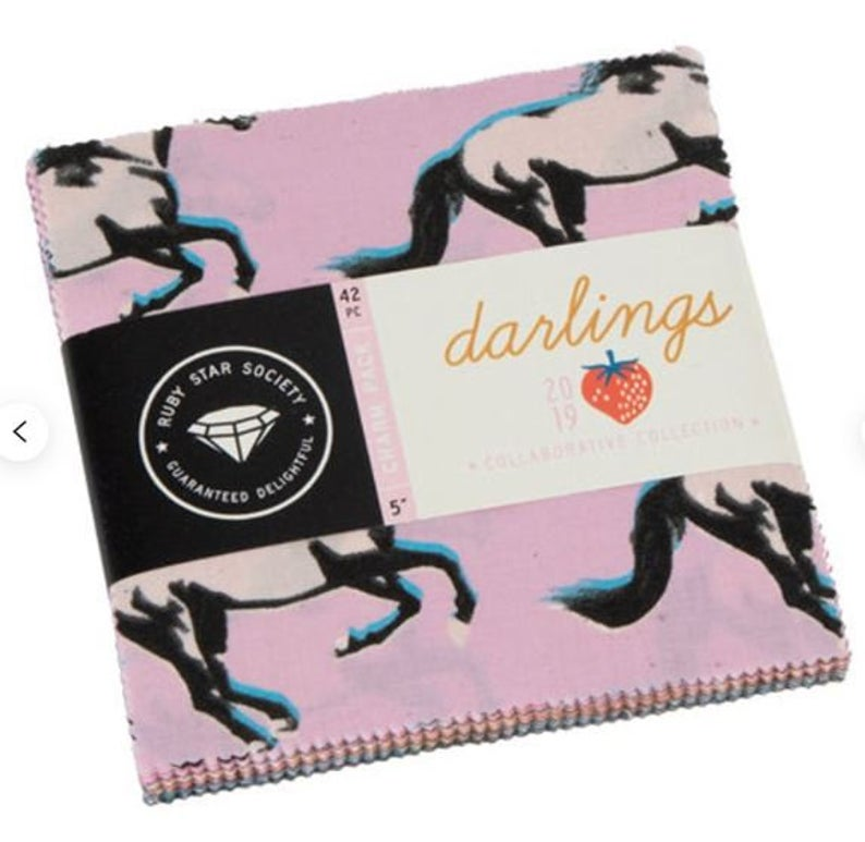 Moda Fabrics - Darlings Charm Pack