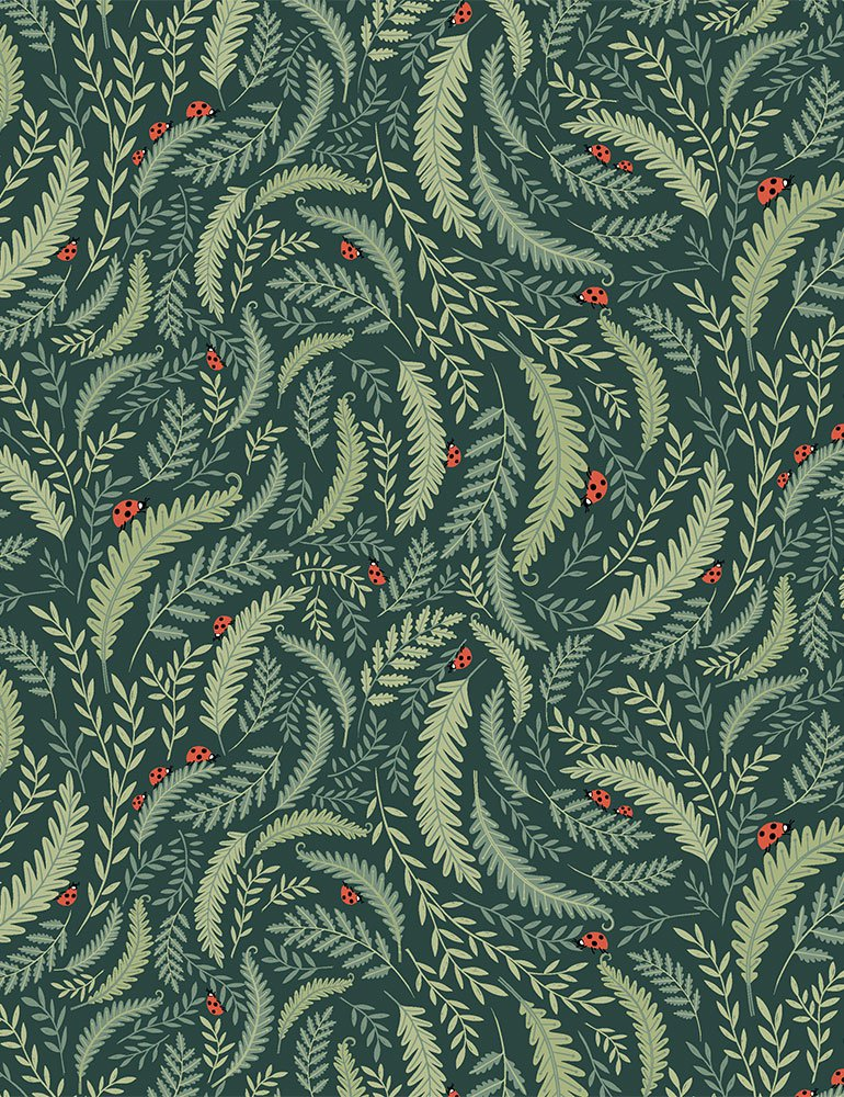 Dear Stella Fabric  - Frond of You