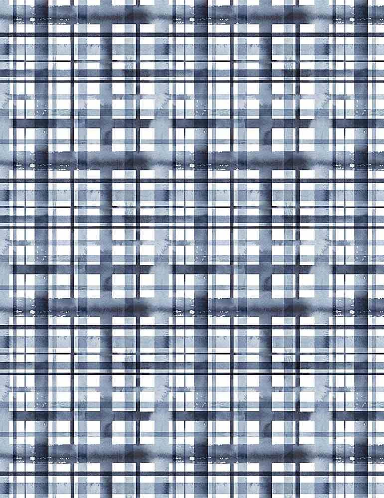 Dear Stella Fabrics -Meant to Bee - Water Plaid