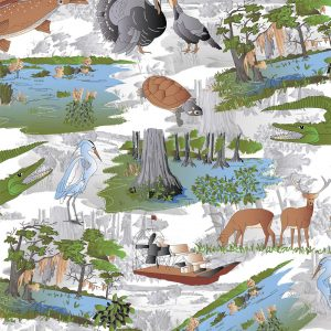 FABRIC FINDERS FABRICS - LOUISIANA HUNTING FABRIC