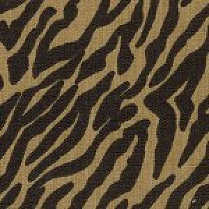 FABRIC FINDERS FABRICS -BLACK / BRONZE ANIMAL FABRIC