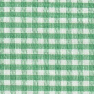 Fabric Finders Fabrics - Emerald Green Check Fabric 1/8'