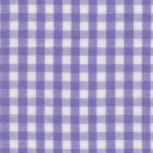 FABRIC FINDERS FABRICS - PURPLE CHECK FABRIC 1/8'