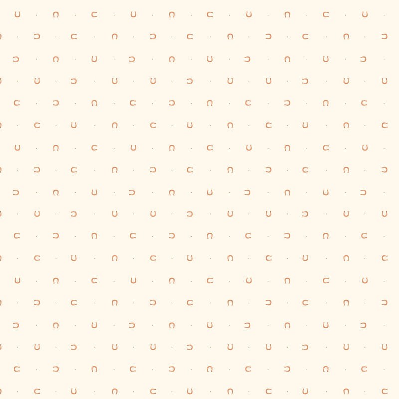 FIGO FABRICS - LUCKY CHARMS - HORSESHOES IN CREAM WHITE