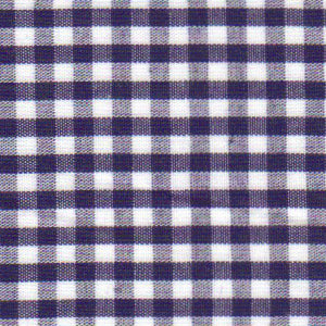 "Fabric Finders Fabric - Check 1/8"" Navy"