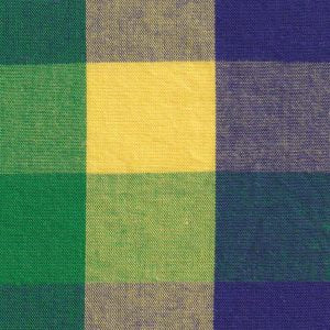 Fabric Finders Fabric - Mardi Gras Plaid Fabric