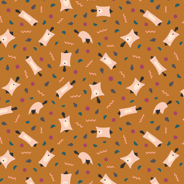Figo Fabrics - Treehouse - Flying Squirrel