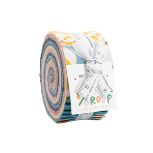 Moda Fabrics  - Ruby Star Society - Food Group Jelly Roll