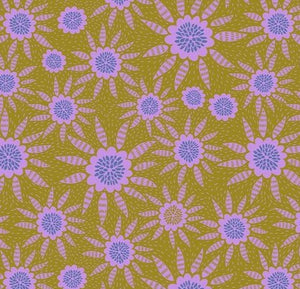Free Spirit Fabrics - Anna Maria for Anna Maria's Conservatory - New Joy - Maize