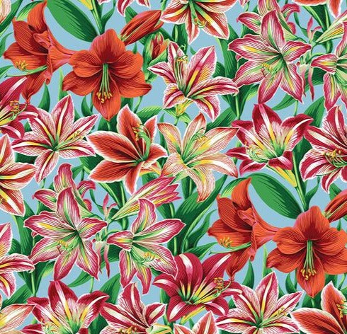 Free Spirit Fabrics - Phillip Jacobs for Kaffe Fassette -  Amaryllis - Natural