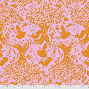 Free Spirit Fabrics -  Tula Pink - Curiouser & Curiouser  - Down the Rabbit Hole - Wonder