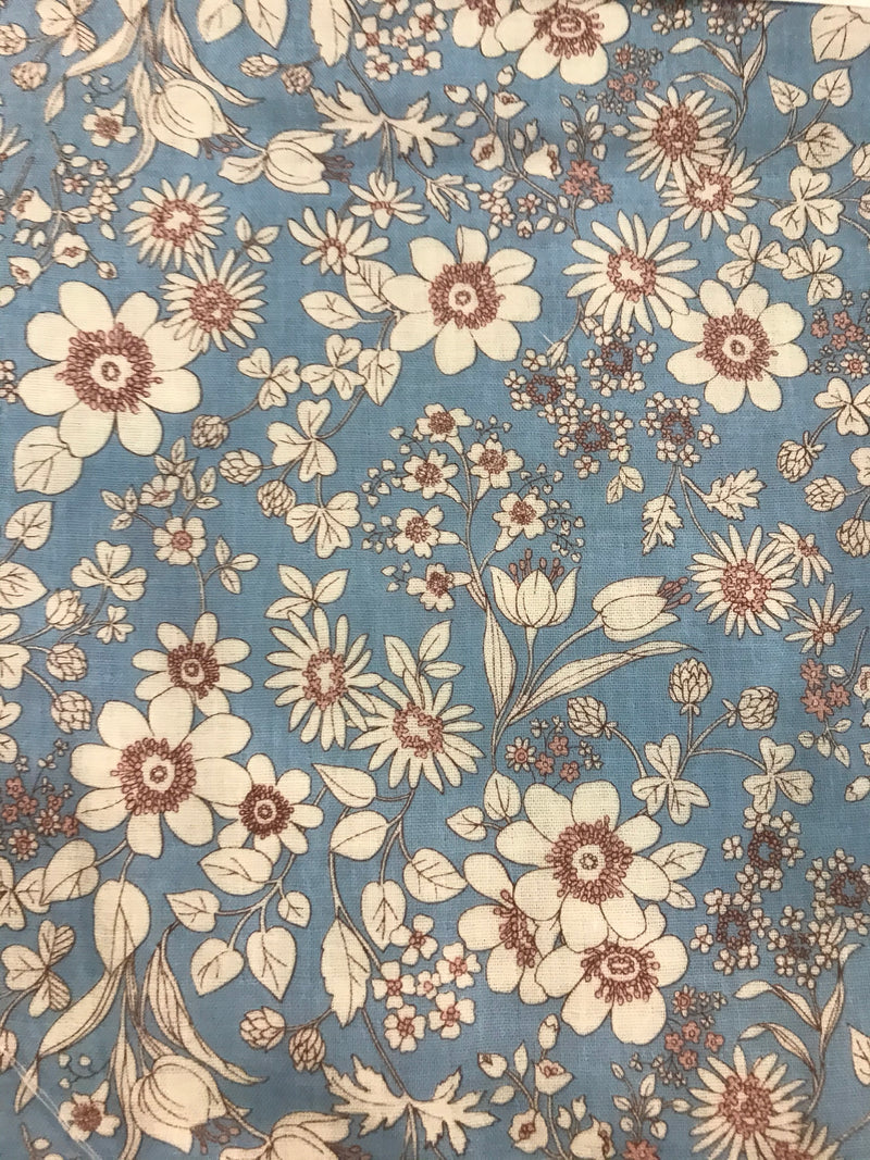 SEVEN ISLAND FABRICS -  SPRING PERIWINKLE