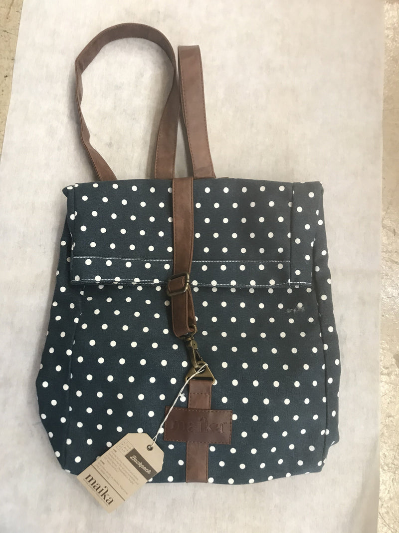 Backpack Dots Navy