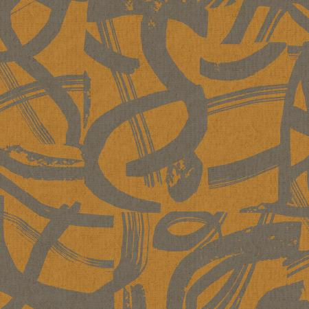 COTTON + STEEL FABRICS -  IN BLOOM - ON THE WAY - GOLDEN CANVAS FABRIC