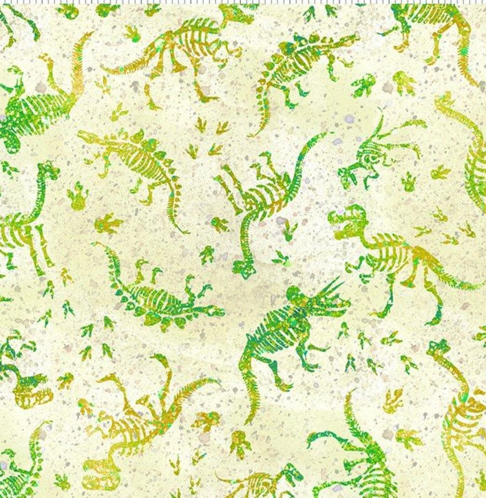 In the Beginning - 5Dinosaur Friends - Fossills - Green