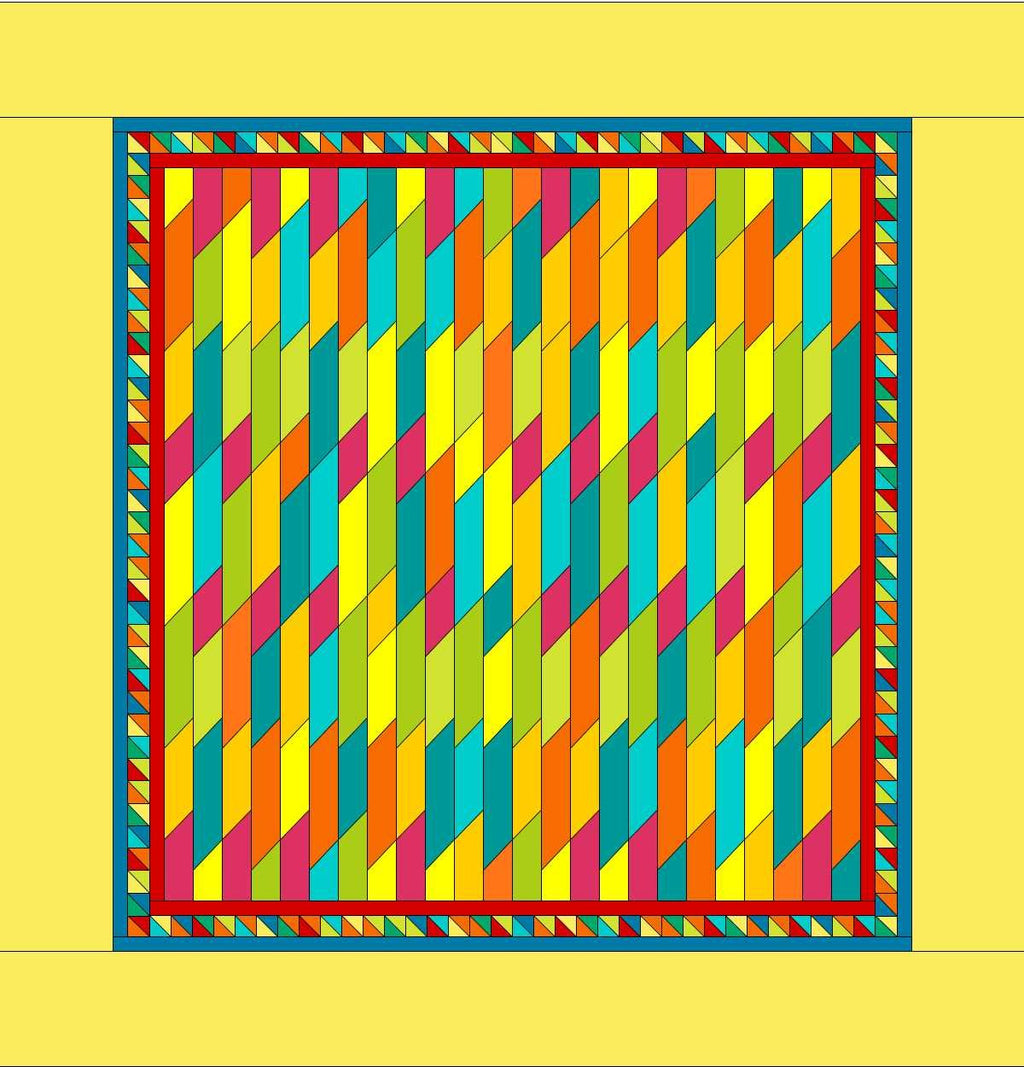 JELLY ON THE FENCE QUILT PATTERN (PDF)