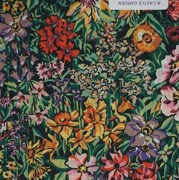 Liberty London Fabrics - A Castle Garden Tana Lawn