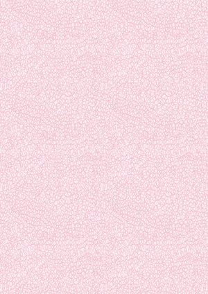 Lewis & Irene Fabrics -  Piggy Tales -  Piggy Tails on Pink