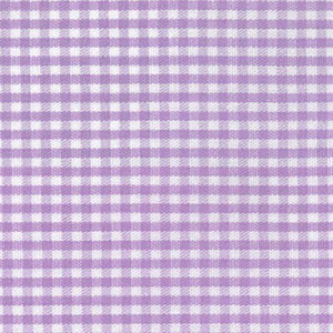 Fabric Finders Faabric -1/16  Lilac Gingham