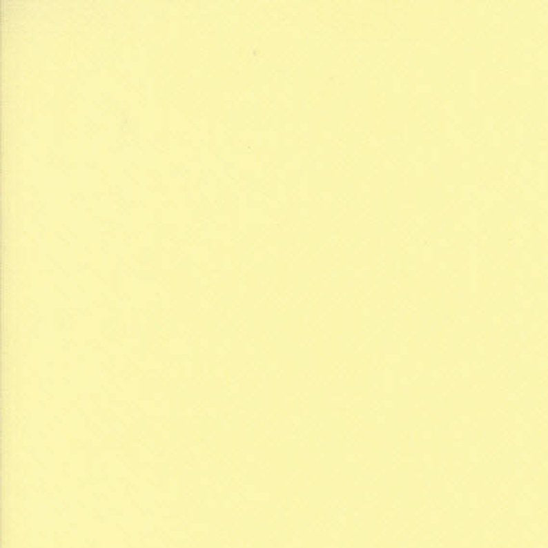 MODA FABRICS  - BELLA SOLIDS -BABY YELLOW