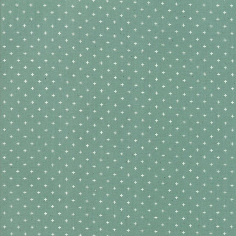 MODA FABRICS -  RUBY STAR - ADD IT UP - SOFT AQUA