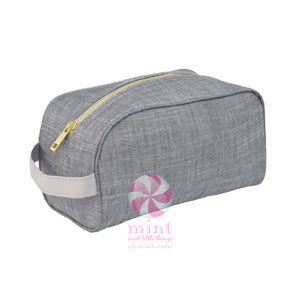 Mint Sweet Little Bags -Gray Chambray Traveler