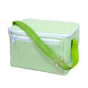 Mint Sweet Little Bags - Lunch box - Lime Seersucker